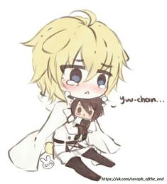 Poor Mika Mika and yuu yaoi owari no seraph / seraph of the end