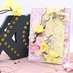 Card using the ScrapBerry's Cherished Jewels collection