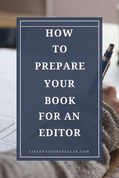 Understanding how to prepare your book for an editor is not as hard as you may think it is, but it's also not as easy. You don't just finish your first draft and send it off to them. No, my friends, you still need to have an action plan.