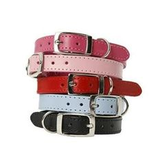 There is nothing plain about these soft, stylish leather DOGUE dog collars. These designer dog collars are designed to provide maximum comfort when walking.