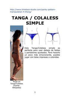 Tanga o Colaless Simple. Bikini Moldes, Bikinis, Patterns, Movie Posters, Movies, Shopping, Diy, Vestidos, Modeling