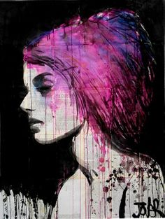"Saatchi Online Artist Loui Jover; Drawing, ""thorn"" #art"