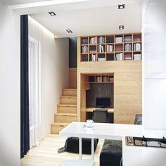 Appartement urbain par Denis Svirid   Blog Esprit-Design : Blog Design & Project & Inspiration