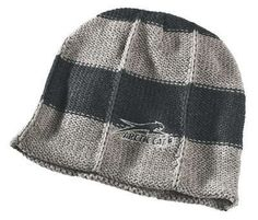 ebafeb7e939 Arctic Cat Unisex Adult Aircat Striped Beanie New Gray 5233 005 Ecklund  Motorsports  8.98 Snow Days