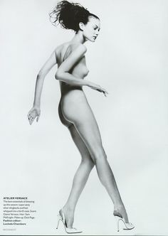 Shalom Harlow   Photography by Nick Knight   For Vogue Magazine UK   October 1995 ☆
