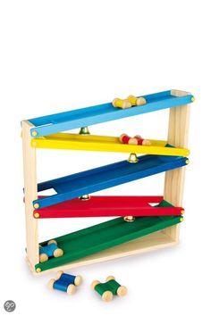 Base Toys Houten Knikkerbaan Groot