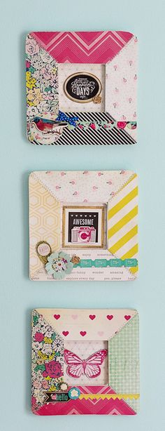 Cute project with my scrapbooking products!!