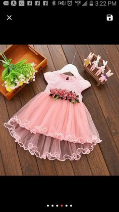 New Flower girl Easter dress size 18 MO. This beautiful flower girl dress is full of frills in Spring colors Girls Easter Dresses, Flower Girl Dresses, Kids Boutique, Spring Colors, Wedding Dresses, Beautiful, Fashion, Bridal Dresses, Moda