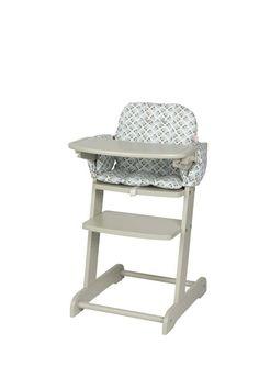Meegroeistoel Silvana + stoelkussen met uitltjesprint van topmerk Pericles