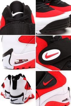 Air mission red/white/black