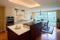 #cultivateit #ktichen Custom Cabinetry & Caesarstone Countertops (Cultivate.com)