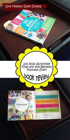 101 Kids Activities book review | One Mama's Daily Drama