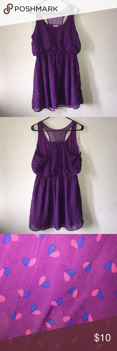Purple dress Purple dress with a racer back. Dresses Midi