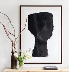 Large Scale Art Print Abstract Minimalist by BorianaMihailovska