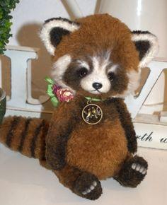 Red Panda Hanny by Olga Schlegel