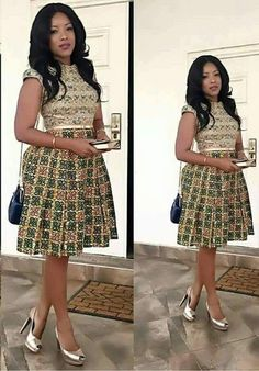 Ankara Gowns Sown and Designed on Higher Grounds for Princesses - WearitAfrica Ankara Short Gown Styles, Short African Dresses, Latest African Fashion Dresses, African Print Dresses, African Print Fashion, Ankara Gowns, Dress Styles, Nigerian Fashion, Ghanaian Fashion