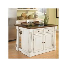 Farmhouse Kitchen Island With Wheels Home Pinterest Farmhouse - Roll away kitchen island