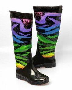 10-funky-rain-boots-for-women-2.jpg 297×550 pixels | Sexy, Funky ...