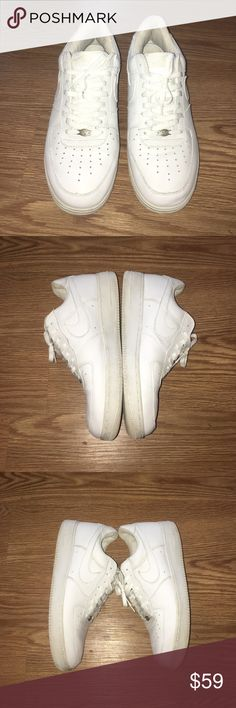 Air Force 1 Good condition, just too small for me so I figured I'd let someone else enjoy them. Thanks for lookin!