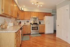 Eat-in Kitchen with beautiful updates