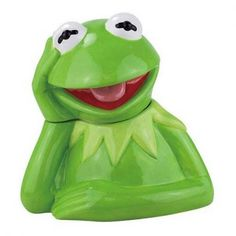 Muppets Kermit The Frog Cookie Jar