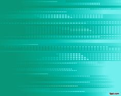 Green technology PowerPoint template with pixels and digital design