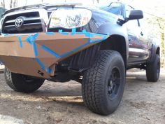 Front bumper build (slow) - Tacoma World Forums got some cardboard? have torch and welder, can travel.