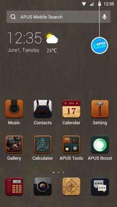 Craftsman Android Theme, Lifestyle & Arts - APUS Themes