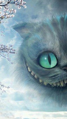 Cheshire cat wallpaper, cheshire cat drawing, cheshire cat alice in wonderland, alicia wonderland Alice And Wonderland Quotes, Adventures In Wonderland, Wonderland Party, Cute Wallpapers, Wallpaper Backgrounds, Iphone Wallpaper, Cheshire Cat Wallpaper, Gato Alice, Wallpaper Gatos