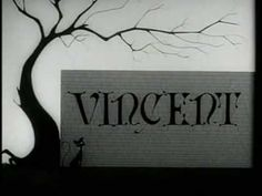 """Very early Tim Burton cartoon made for Walt Disney Studios. Super Awesome with Vincent Price. A lot of this made its way into the new """"Frankenweenie"""" movie. (Interesting sidenote: I named a solid gray cat I had """"Vincent"""" because of this. Beetlejuice, Pet Cemetery, Edgar Allen Poe, Edgar Allan, Sr1, Edward Scissorhands, Walt Disney Studios, Corpse Bride, Beautiful Mind"""