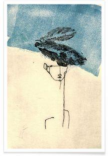 Head - Marina Guiu - Affiche premium
