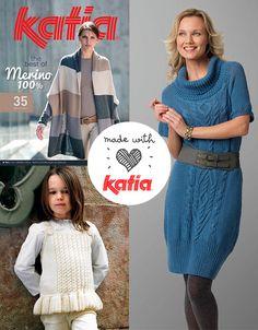 Revista Katia The Best of Merino 100% Otoño · Invierno 2014 / 2015 | Katia The Best of Merino 100% Magazine Autumn · Winter 2014 / 2015