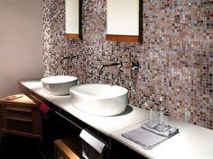 Piastrelle bagno a mosaico - Mosaici bagno della collezione Iperceramica
