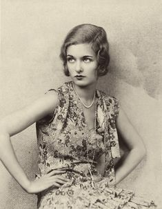 Joan Bennett, 1928 ~ 20s dress vintage fashion