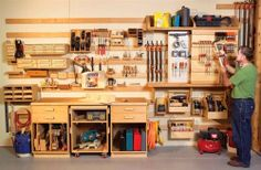 Now Thats A Wood Shop Lots Of Awesome Organization Ideas AW Extra
