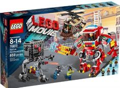 LEGO The Movie Exclusive Set #70813 Rescue Reinforcements. This LEGO set is recommended for age: 8 - 14 years.