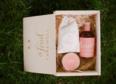 Bourbon. jam. cookie favors. Winifred Bean. Photography by rutheileenphotography.com  Read more - http://www.stylemepretty.com/2011/11/16/inn-at-rancho-santa-fe-wedding-by-red-ribbon-studio/