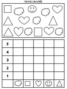 School Fun, First Grade, Teaching Kids, Worksheets, Preschool, Classroom, Shapes, Education, Math