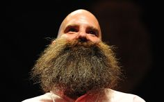 Hairy hombres from all corners of the globe flocked to the Keller Auditorium   in Portland, Oregon yesterday, to show off their facial growth at the World   Beard and Moustache Championship.