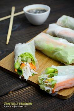 Dairy Free, Gluten Free, Spring Rolls, Allergy Free, Yams, Egg Free, Light Recipes, Fresh Rolls, Sushi