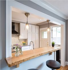 Pendant Lights Over Breakfast Bar Source Deborah Eldridge Lights - Lights over breakfast bar
