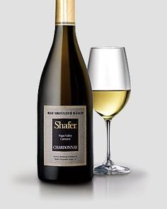 "Shafer Red Shoulder Ranch Chardonnay...""one of the best non-malolactic, barrel-fermented Chardonnays in California..."" Robert M. Parker, Jr., The Wine Advocate. In a nutshell--an excellent bottle of wine that pairs very well with food:)"