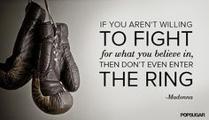 Fight quotes...