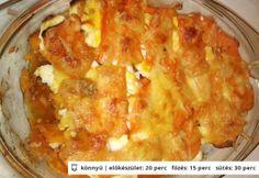 Rakott sütőtök Manókitól Macaroni And Cheese, Ethnic Recipes, Food, Drink, Mac And Cheese, Beverage, Eten, Drinking, Meals