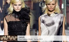 Lanvin Spring 2013 collection