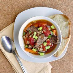 Steak Tomato and Smoked Paprika Soup