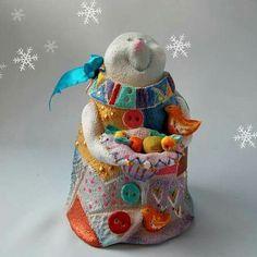 Merry Christmas! З Різдвом Христовим! Благословення Вам! #frosty #winter #merrychristmas #art #ceramics #pottery #bell #Різдво #artstudio ❄️