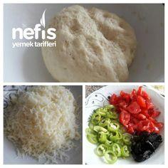 Tavada 5 Dakikada Mini Pizzalar - Nefis Yemek Tarifleri Pizza, Grains, Rice, Food, Essen, Meals, Seeds, Yemek, Laughter