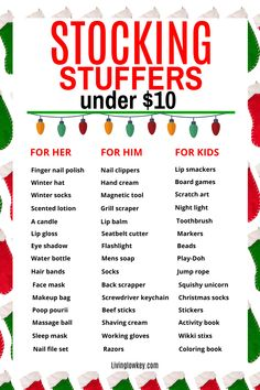 Christmas On A Budget, Christmas Shopping, Holiday Fun, Inexpensive Stocking Stuffers, Best Stocking Stuffers, Best Money Saving Tips, Saving Money, Fun Diy Crafts, Frugal Tips