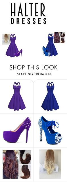 """halter"" by drea97-1 on Polyvore featuring TaylorSays and halterdresses"